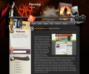 Flavoring Blogger Template