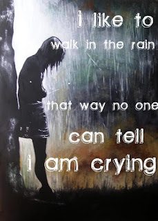 I Like walk in the rain