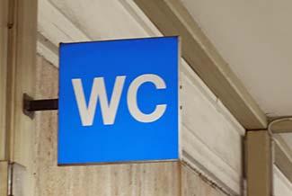 Bathroom Signs In Germany relentless writings: wc's