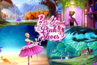 Barbie és a rózsaszín balettcipő online (2013)