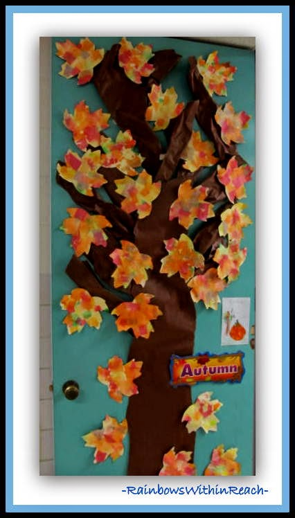 for Autumn classroom door decoration ideas