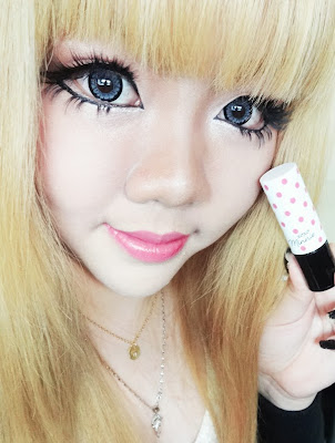 etude house minnie bubble pink lipstick