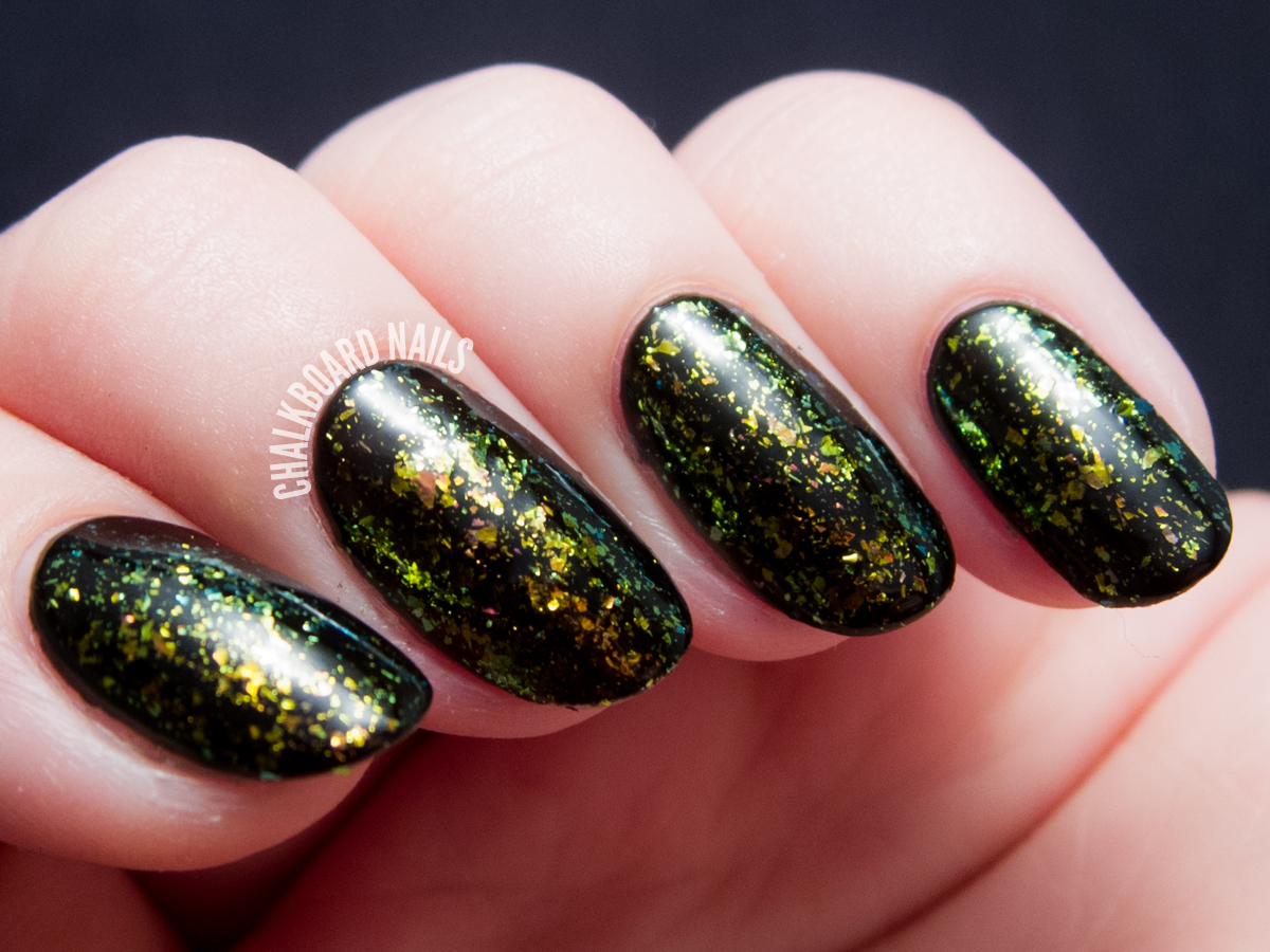 I Love Nail Polish - Brilliance via @chalkboardnails