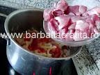 Tocanita de porc cu cartofi preparare reteta