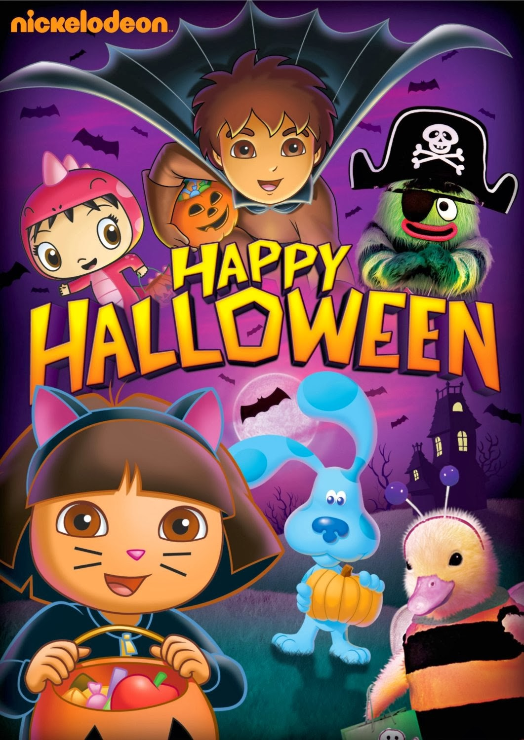 Halloween Is A Special Time Of Year And This DVD Has All Your Favorite Nickelodeon Friends As They Discover Candy Costumes Haunted Happenings
