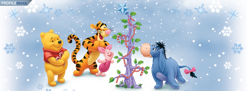 Winnie The Pooh Christmas Cover Photo