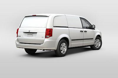 2012 Dodge Ram Cargo Van Wallpaper
