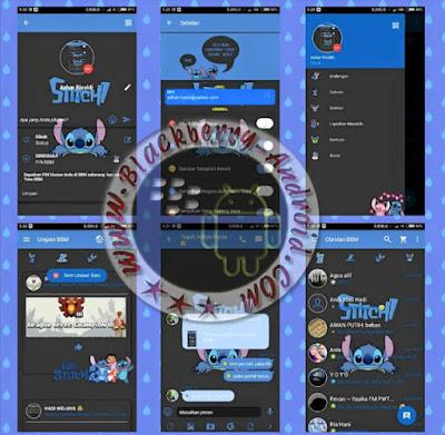 BBM Mod New Version 2.11.0.16 Stitch Themes Apk