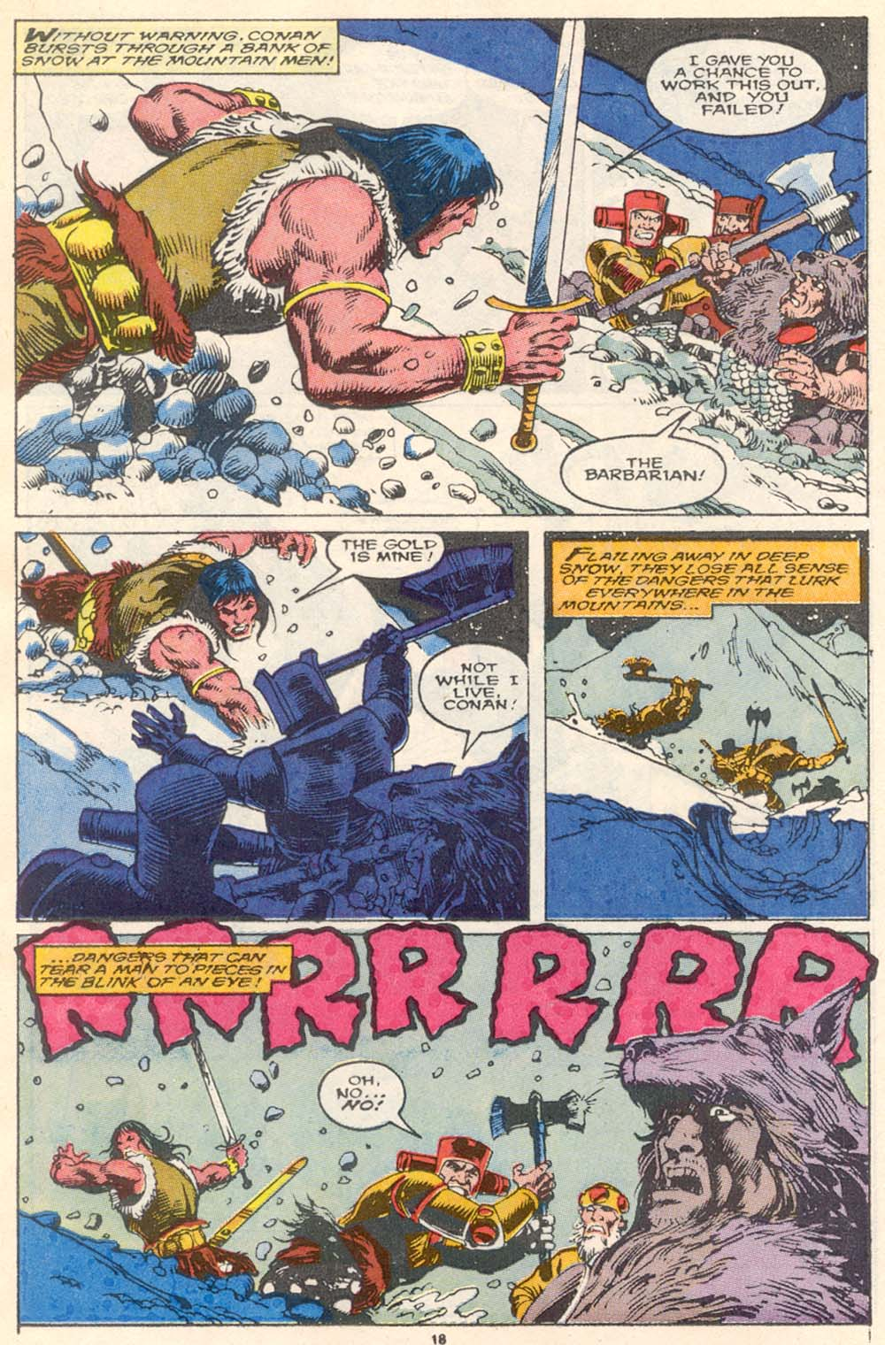 Conan the Barbarian (1970) Issue #220 #232 - English 15
