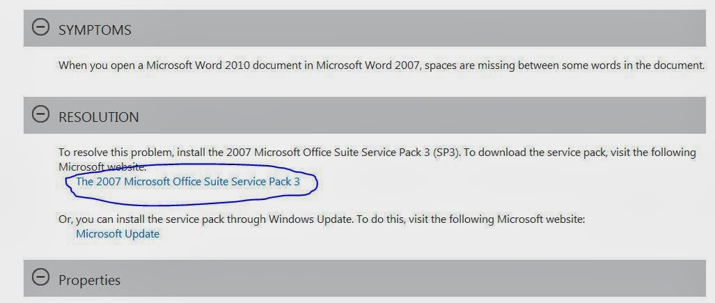 click on the highlighted link in microsoft website it will be redirected to the following link