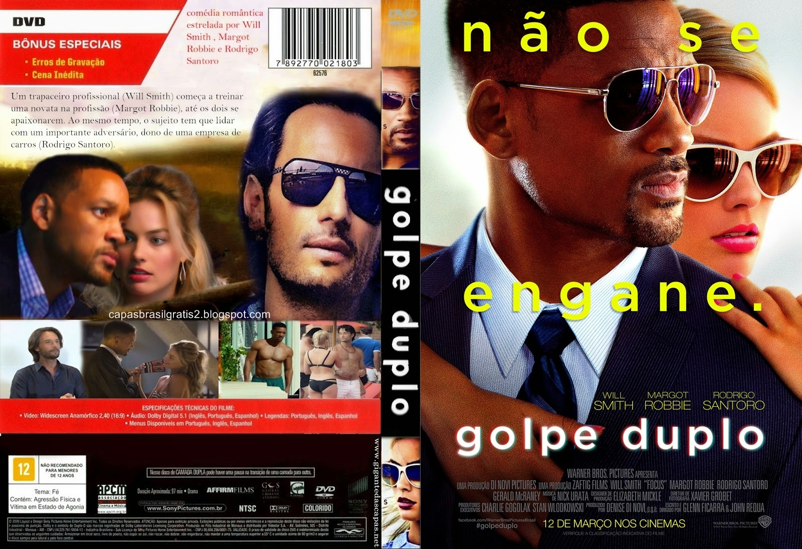 Download Golpe Duplo BDRip XviD Dual Áudio Golpe 2BDluplo 2B3