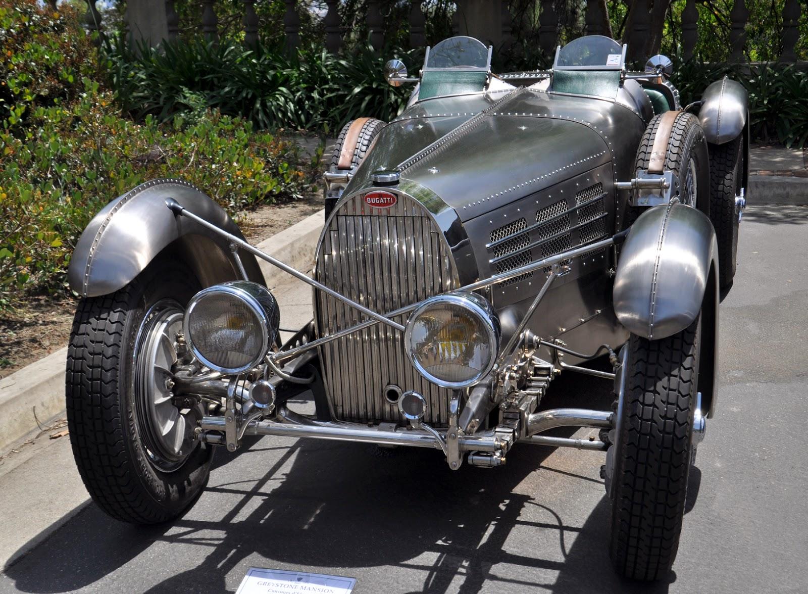 The 1935 Type 57SC Bugatti Electron Torpedo Competition