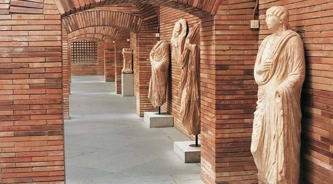 Estatuas romanas en Mérida