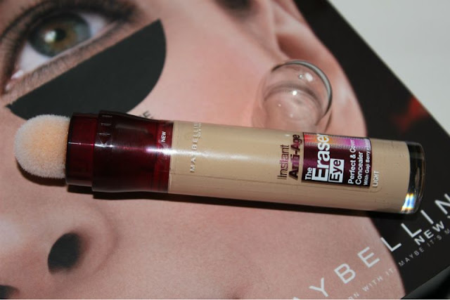 Maybelline The Eraser Eye Perfect and Cover Concealer