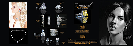Simulated diamonds brochure