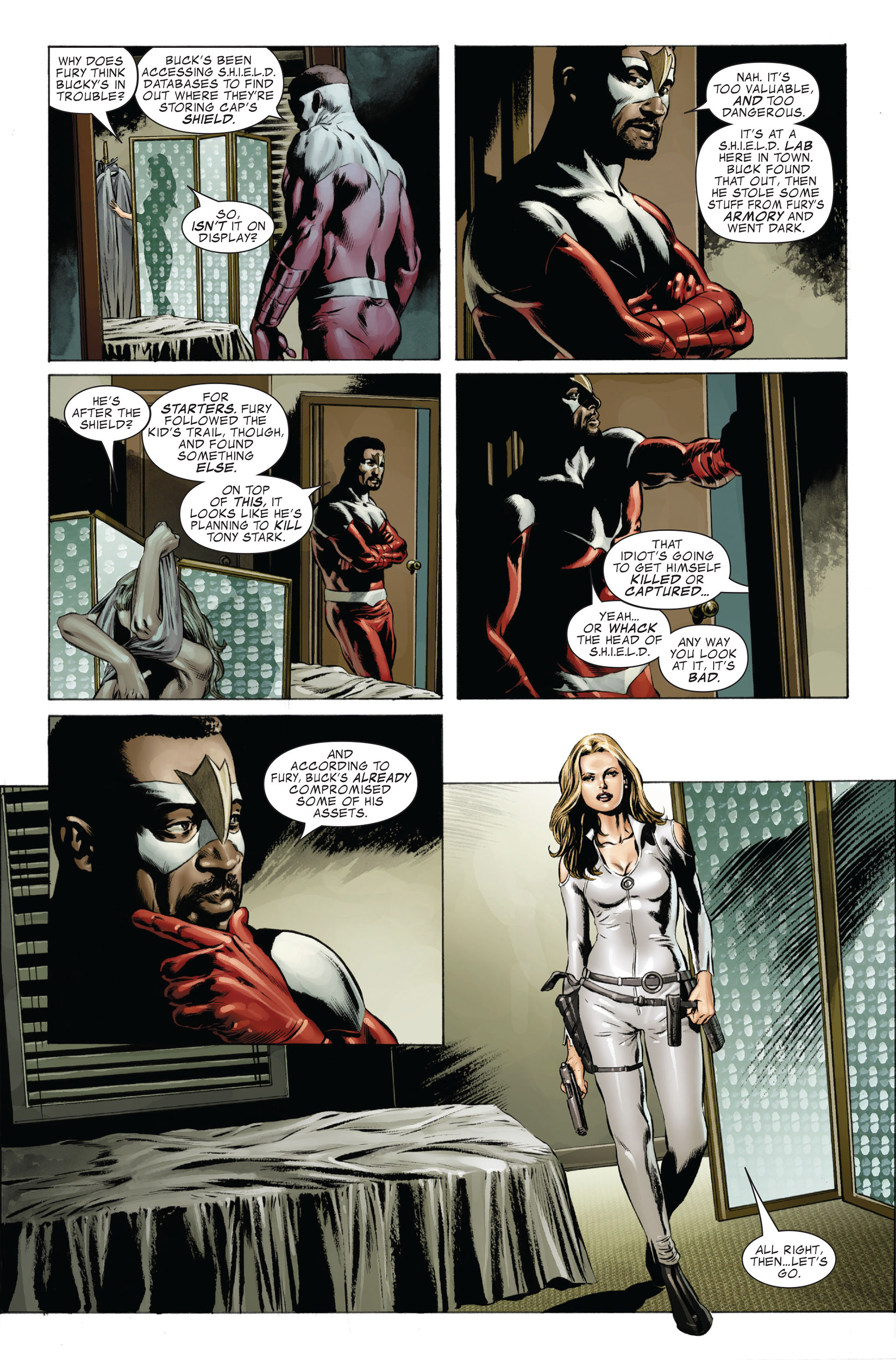 Captain America (2005) Issue #27 #27 - English 10