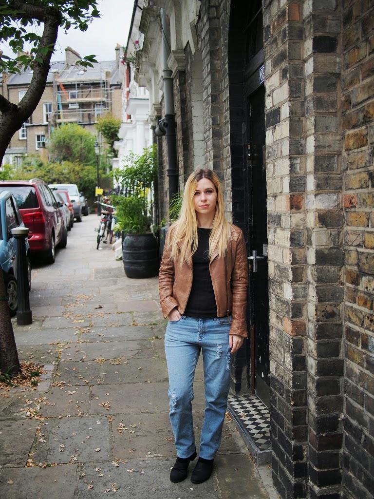 boyfriend jeans streetstyle