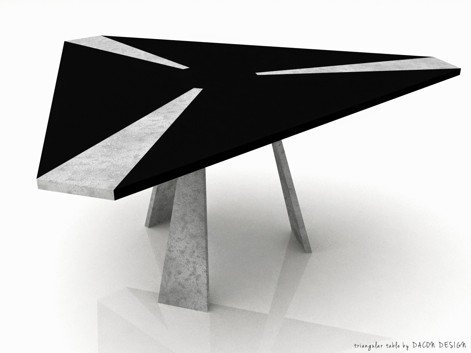 Dacon-Design-interiors-architect-triangular-table-architectural-concrete