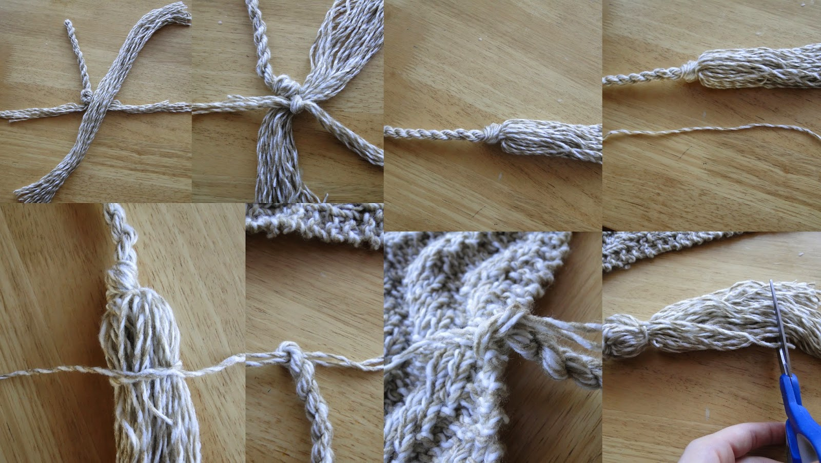 How to make cord and fringes