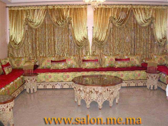 Salon Marocain Moderne En U