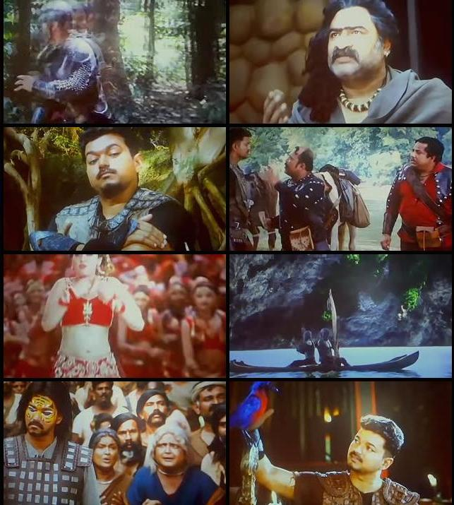Puli 2015 Hindi Dubbed pDVDRip 700mb
