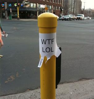 wtf lol omg funny flyer poster