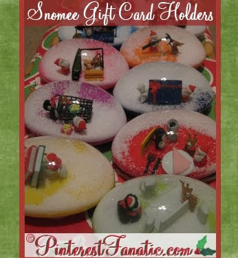 Snomee Gift Card Holder, Snomees, Snow Globes, Gifts