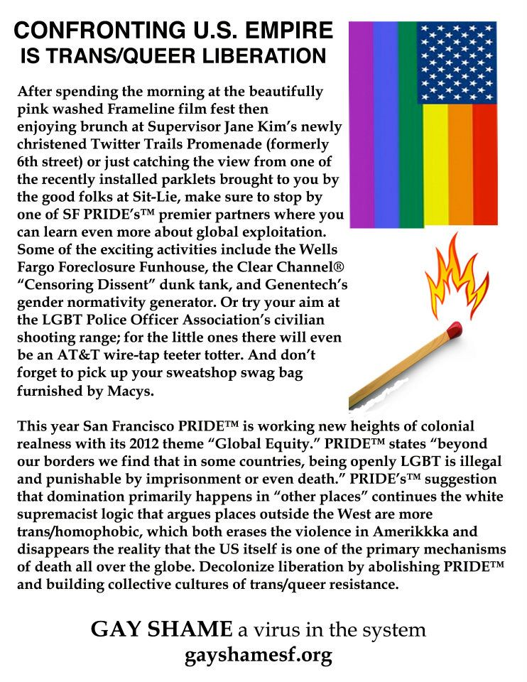 Labels: activism, gay Pride, San Francisco