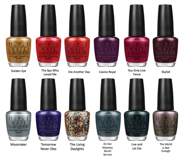 NailsByStephanie: OPI Skyfall Collection And The Man With