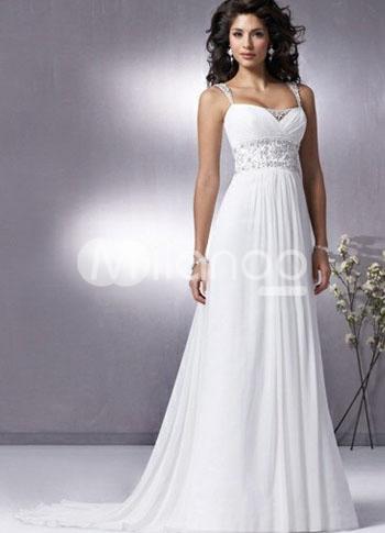 Robes style empire pour les rondes for Robes de mariage de taille empire