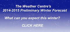 2014-2015 Preliminary Winter Forecast