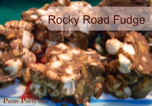 a picture of Rocky Road Fudge
