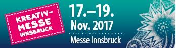 Wir sind auf der Kreativmesse Innsbruck!