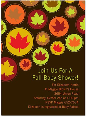 Autumn Baby Shower Invitations2