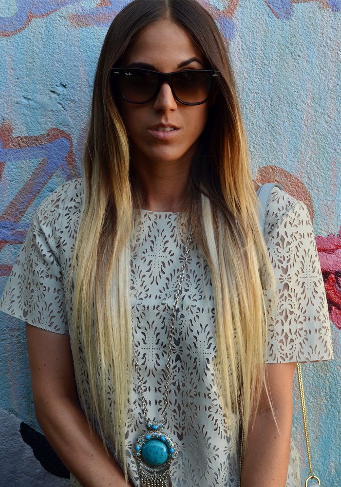alison liaudat, blue, summer, long hair, blond, streetsyle, bangbangblond, straight, vevey, switzerland, sunglasses, ray ban