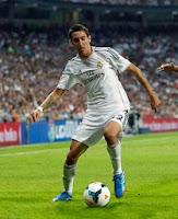 Angel Di Maria con el Real Madrid