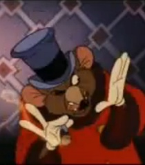 Warren T. Rat at work An American Tail animatedfilmreviews.filminspector.com