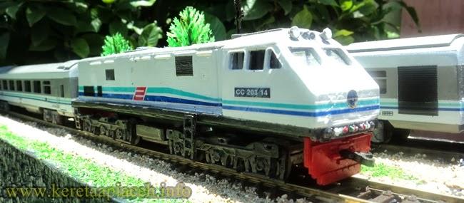 Gambar lain dari rangkaian KA. TAKSAKA 1/87 HO