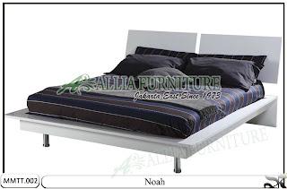 Tempat Tidur Minimalis Modern Noah