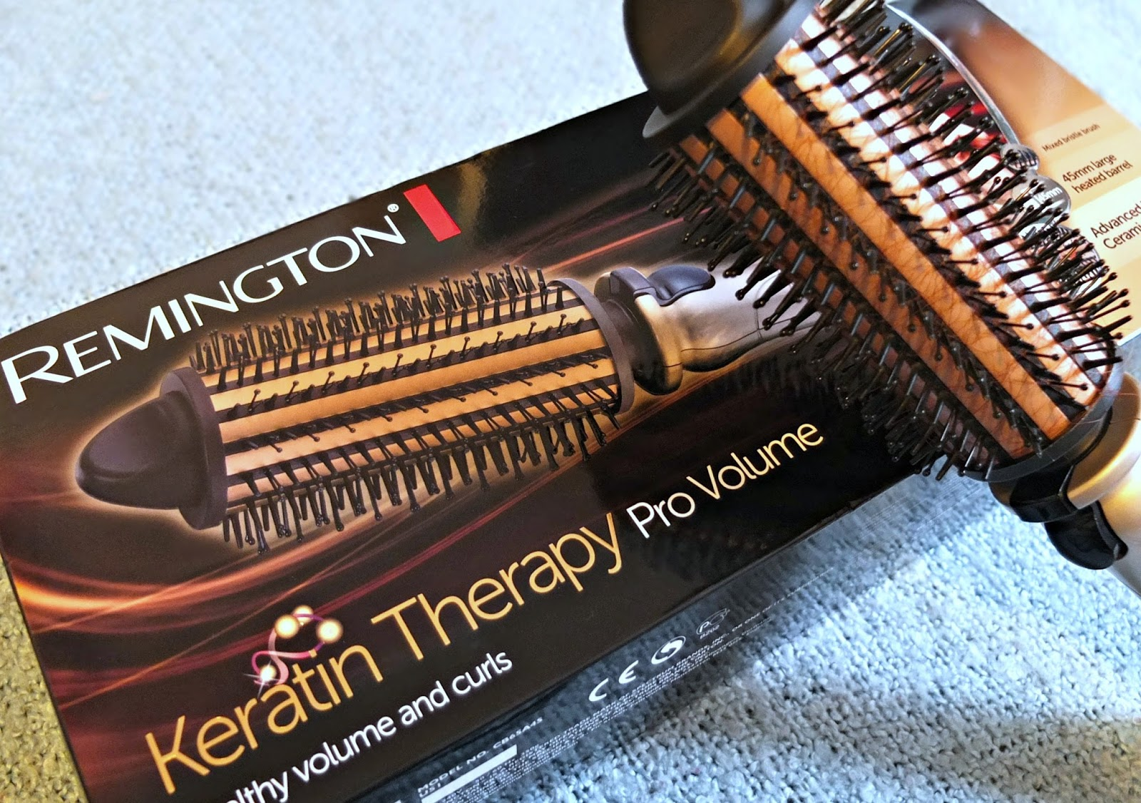Remington Keratin Therapy Pro Volume hair styler review on Hello Terri Lowe