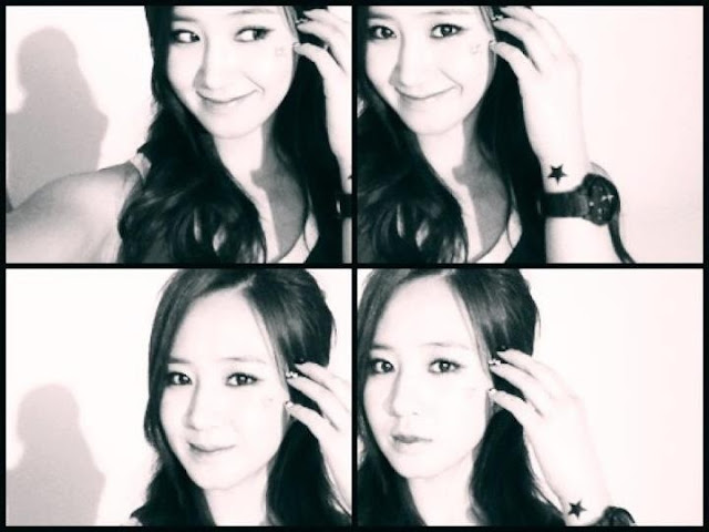 "Another Yuri SNSD new SELCA Photo ""Black Pearl"""