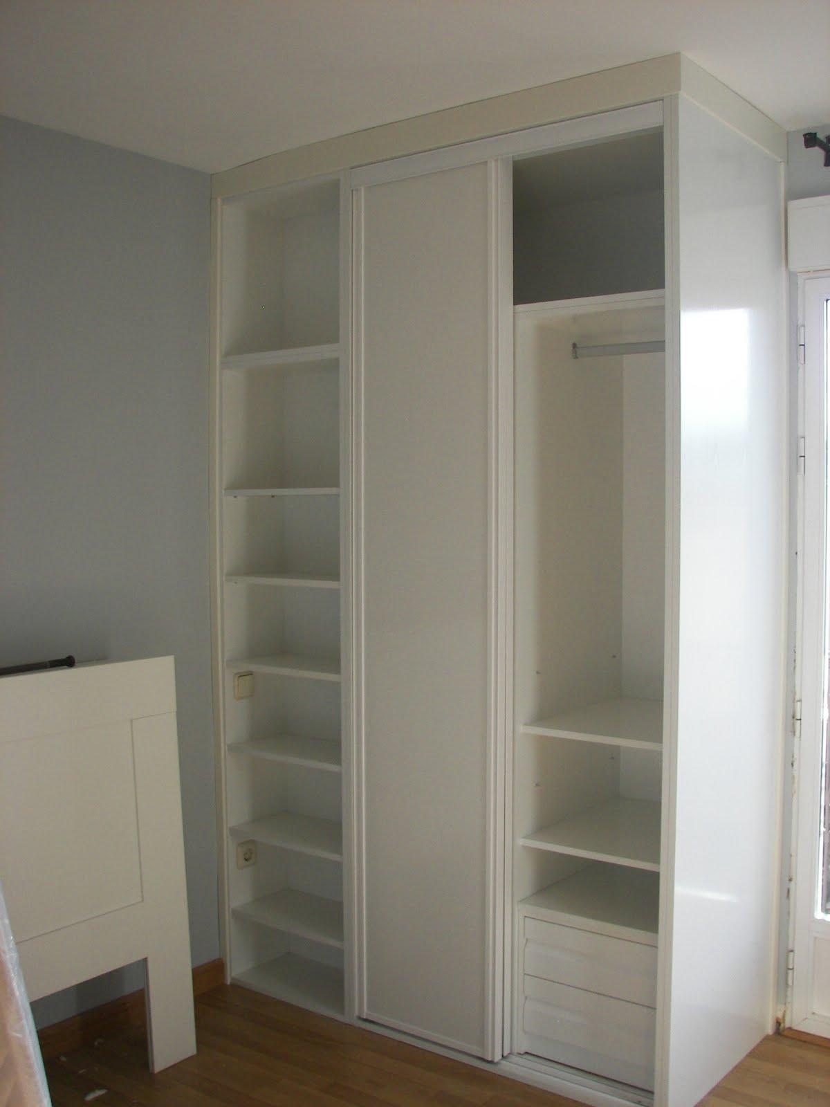 Carpinteria viosca roda frente armario y estanteria - Armario estanteria ...