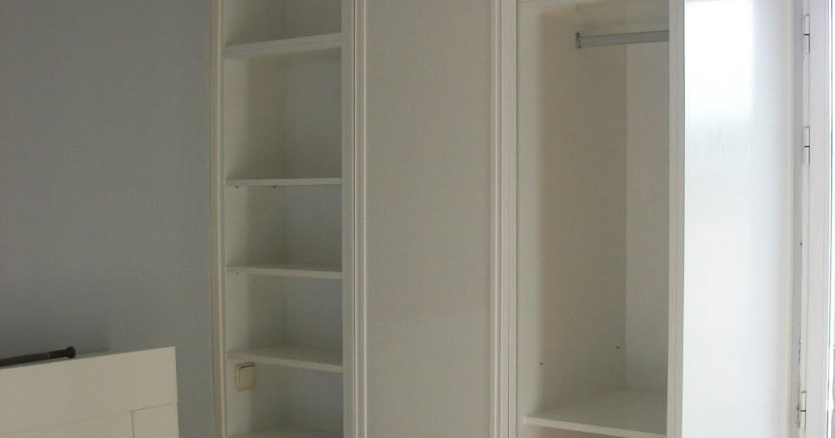 Carpinteria viosca roda frente armario y estanteria - Estanteria interior armario ...