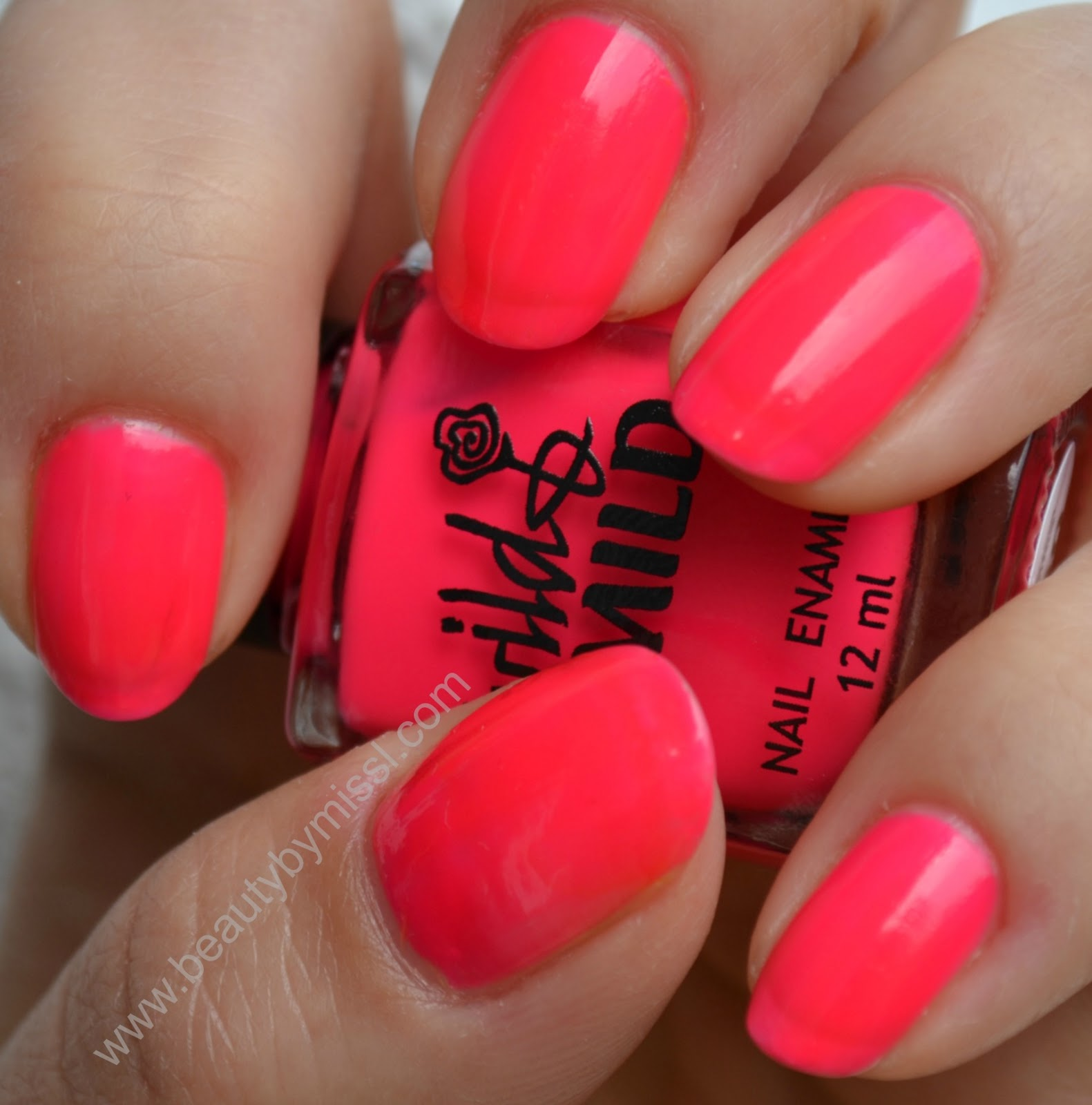 NOTD: Wild&Mild 006 Pink Mania - Beauty by Miss L