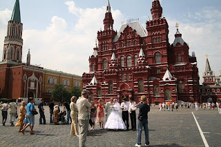 Beautiful Red Square Moscow