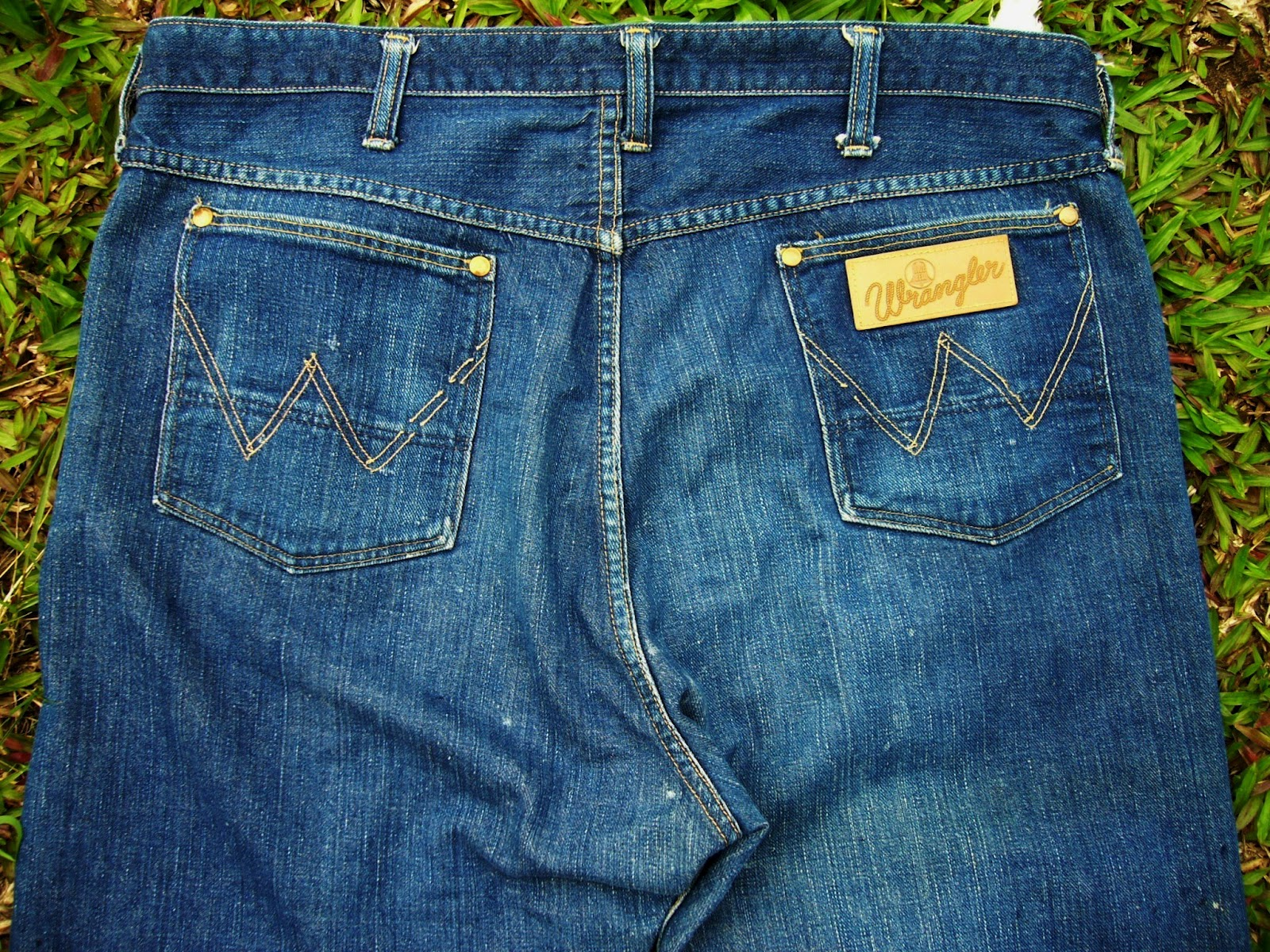 Wish You Were Here Vintage Wrangler Blue Bell 11MWZ Jeans