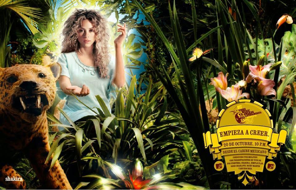 Shakira Pato Da Cunha MTV