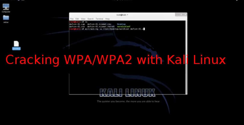 Cracking WPA/WPA2 in Kali Linux