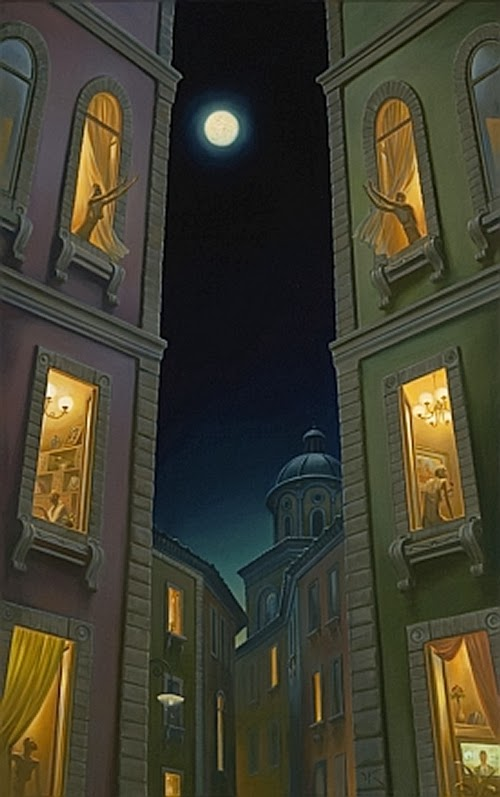 07-Full-Moon-Games-Vladimir-Kush-Surreal-Lands-Paintings-www-designstack-co