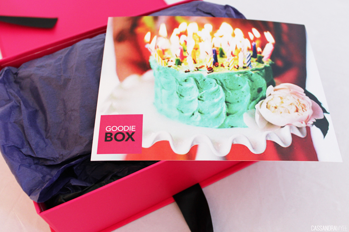 GOODIE BOX // July '14 | Unboxing + Initial Thoughts - CassandraMyee